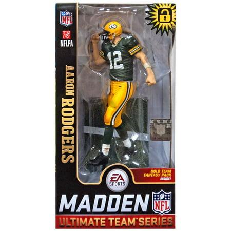 McFarlane NFL EA Sports Madden 19 Ultimate Team Series 1 Aaron Rodgers Action Figure [Variant] ()