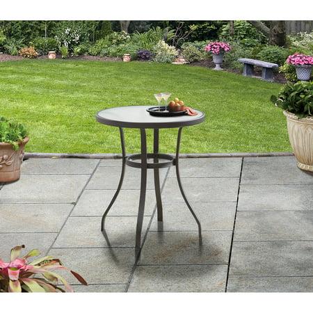 Mainstays Heritage Park Round Bistro Table, (Iron Bistro Mosaic Table)