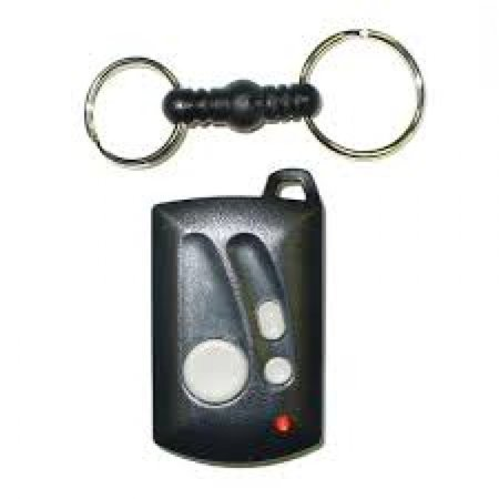 Linear GT-31 3-Channel Genie Compatible Key Ring Transmitter (Genie Lamp Keychain)