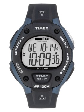 Men's Ironman Classic 30 Full-Size Watch, Black Resin Strap