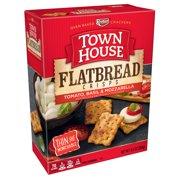 Keebler Town House Flatbread Crisps Tomato Basil & Mozzarella Crackers 9.5 oz