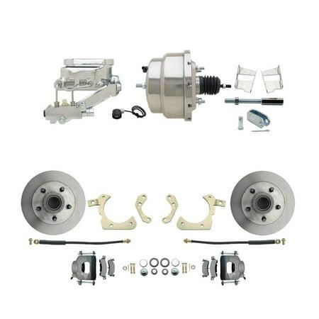 Power Disc Brake Kit, 11 in. Standard Disc Brakes, Chevy 59-64