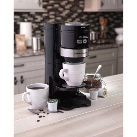 Hamilton Beach Single Serve Grind and Brew Coffee Maker Model# 49989 - Walmart.com