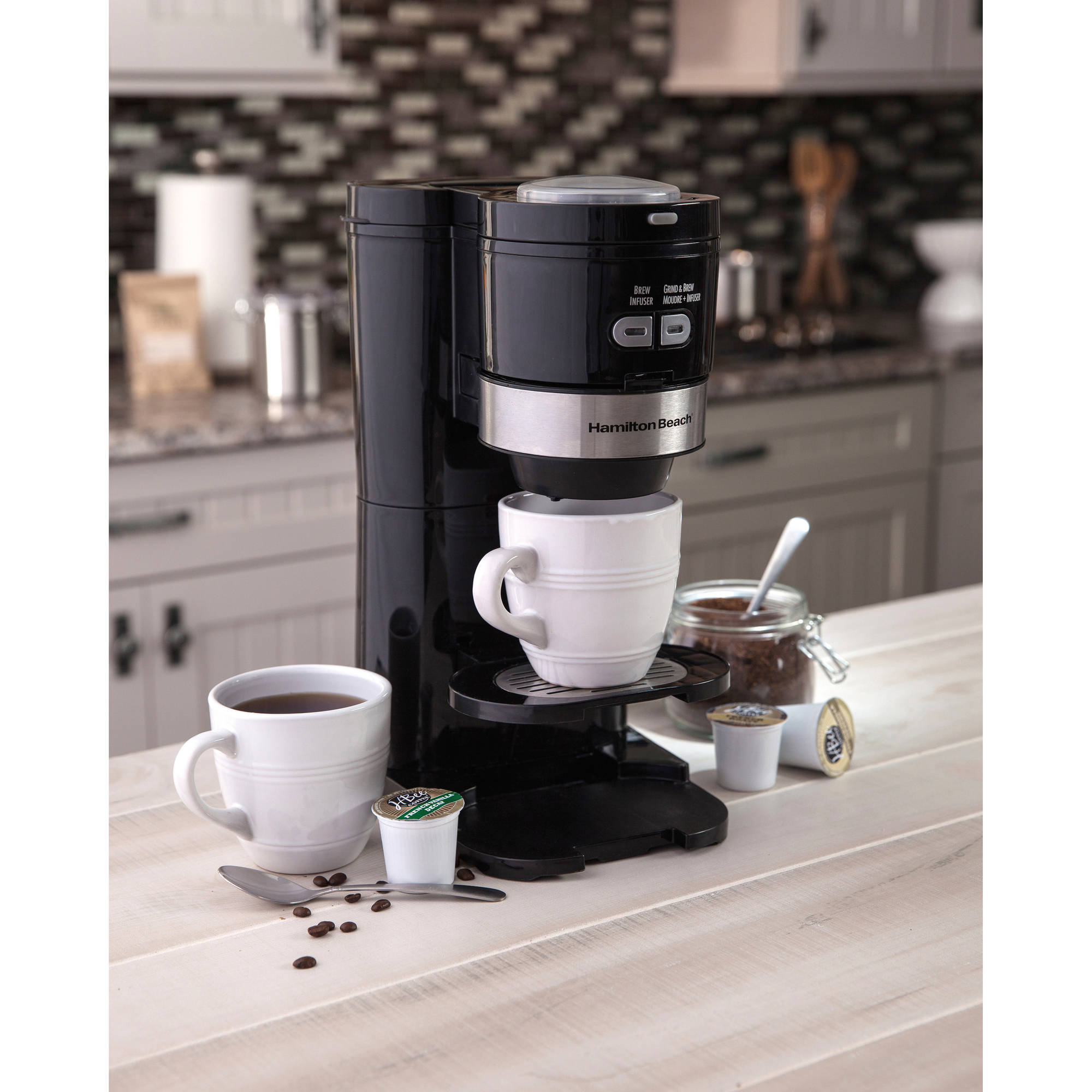 Capresso Coffee Maker With Built In Grinder. Krups Ea8250 Espresseria Super Automatic Espresso ...