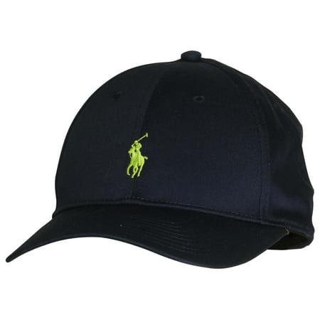 be83c04c326 Polo Ralph Lauren - Polo Ralph Lauren Men s Pony Logo Adjustable Hat Cap-Aviator  Navy-One Size - Walmart.com