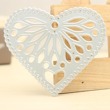 Heart-shaped Pattern Cutting Dies templatesampstencil Stencil For Scrapbook Album Paper Card Photo Frame - Halloween Paper Cutting Patterns