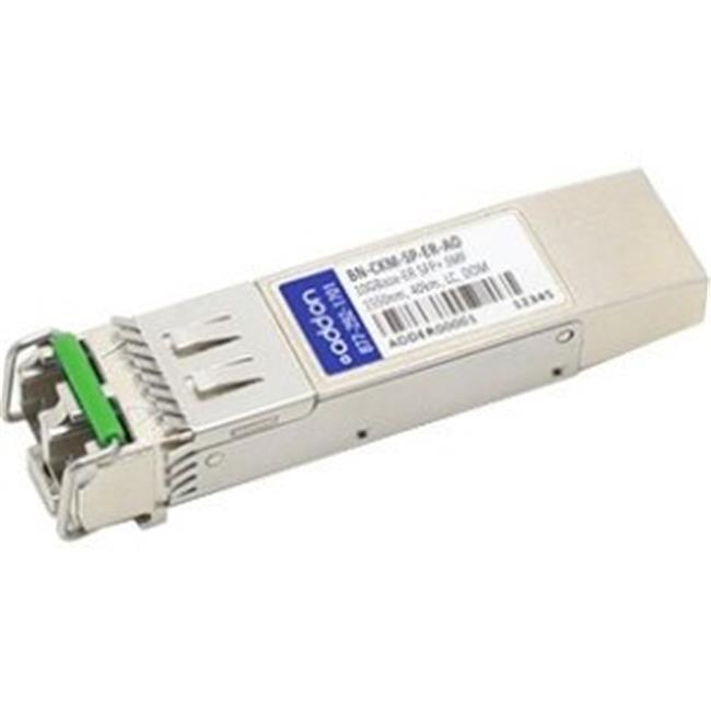 Add-On SFPP-10G-DW37-ER-AO Juniper Compliant TAA SFP Plus 10G-DWDM LC Transceiver - 1547.72 nm - image 1 de 1