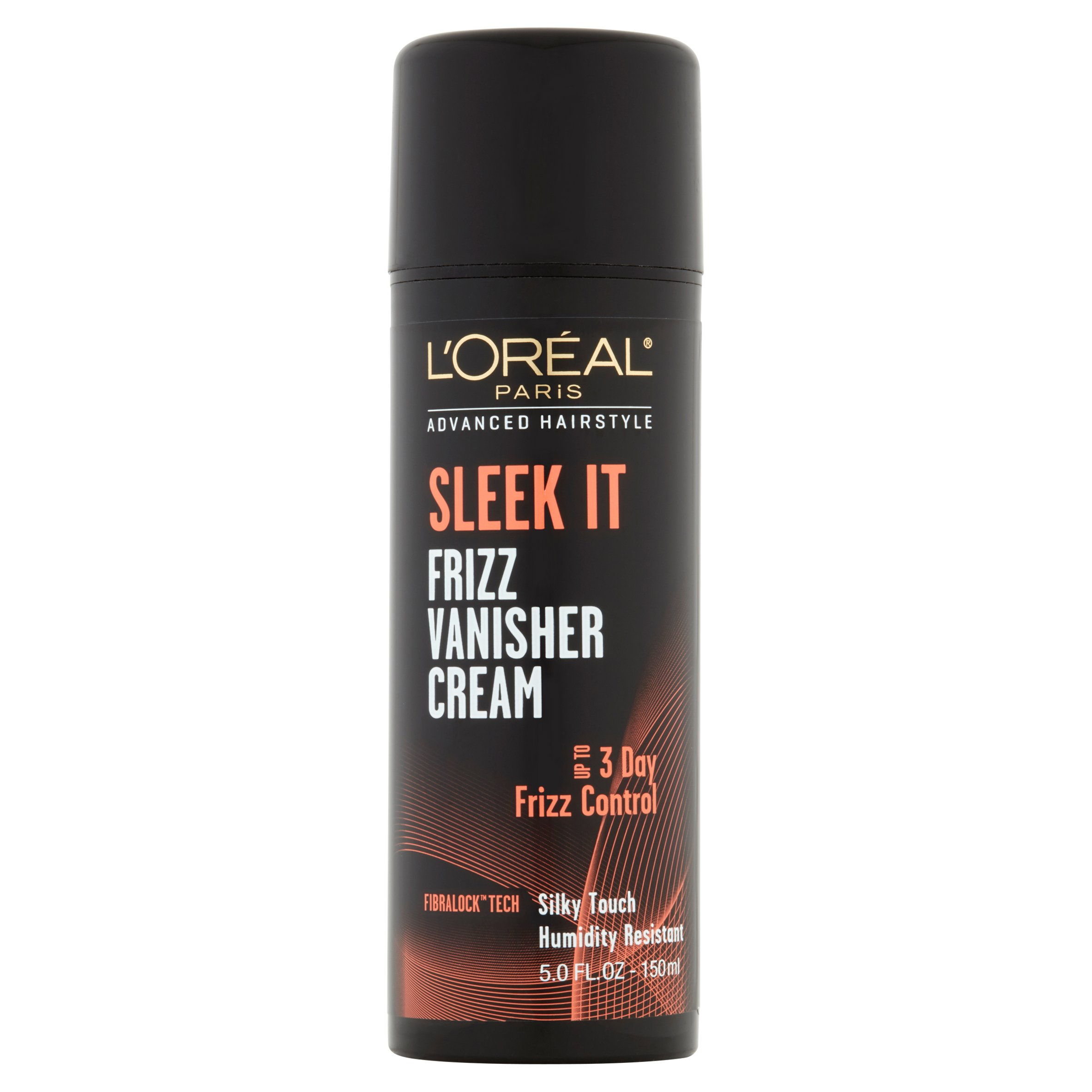 L'Oréal Paris Advanced Hairstyle SLEEK IT Frizz Vanisher Cream, 5 Fl Oz