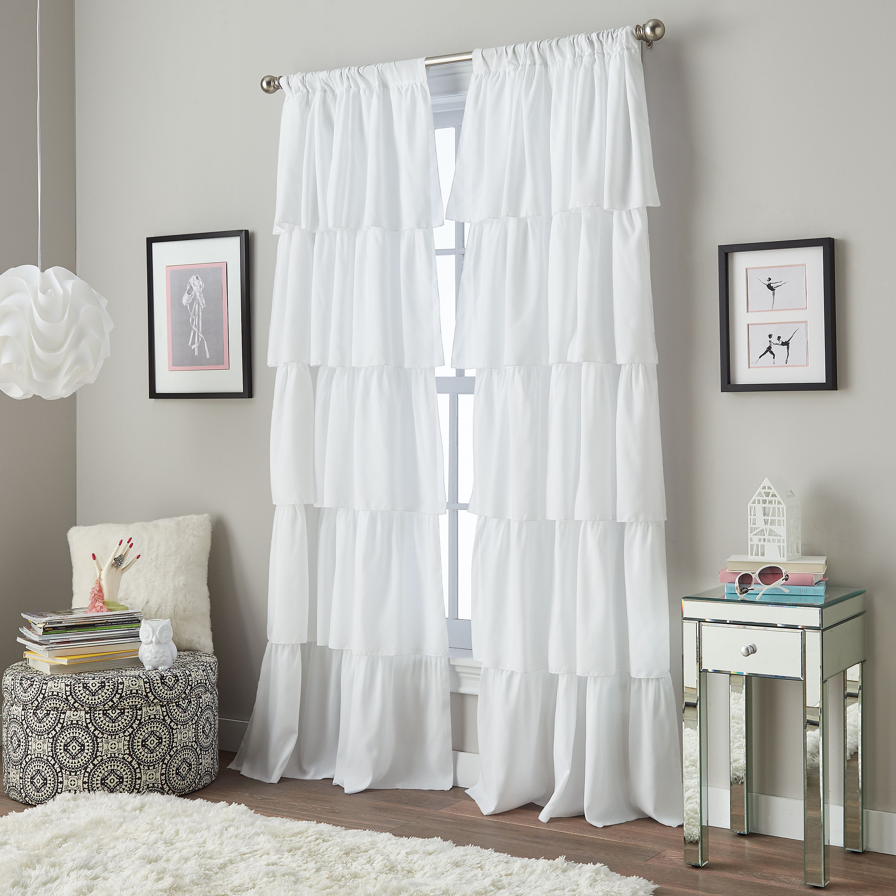 Your Zone Ruffle S Bedroom Curtain