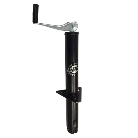 Tongue Jack Foot (New 2000 lbs A Frame Topwind Trailer Tongue Jack - 26003 By Libra Ship from US )