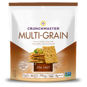 Crunchmaster Crackers, Sea Salt, 4 oz