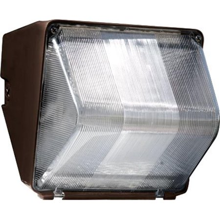 Dabmar Lighting DW1070 8.50 x 8.44 x 9 in. 120 V 70 watts Mini Wall Pack Fixture with High Pressure Sodium Lamp, Bronze