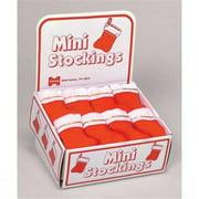 Halco 1006-72 6'' Mini Stocking - Red items come in a plain box
