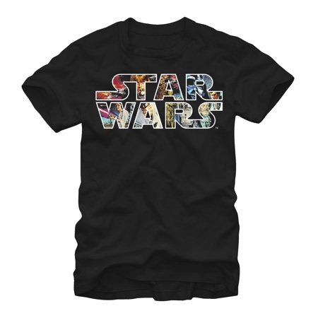 Star Wars Tshirts (Star Wars Men's Classic Poster Logo)