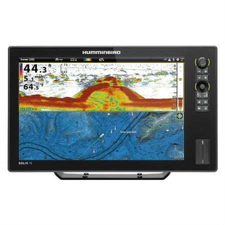 Humminbird SOLIX 15 CHIRP GPS Combo 15.4 Color TFT Fishing System