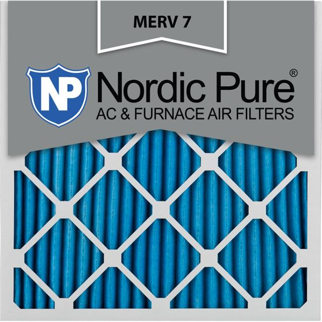 Nordic Pure 16x16x1 MERV 12 Pleated AC Furnace Air Filters 1 Pack