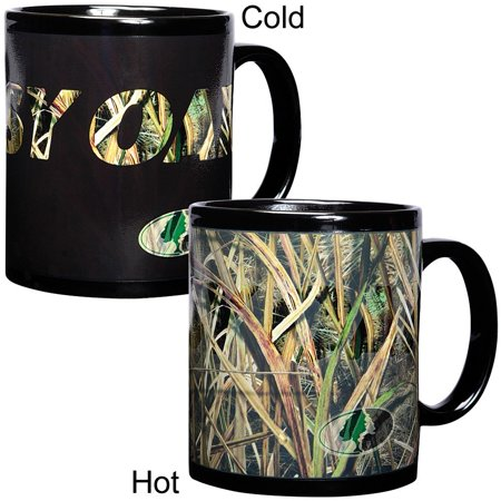 Havercamp Color Changing Mug by Mossy Oak Camo Camouflage Duck Blades Pattern