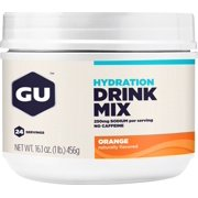 GU Hydration Drink Mix: Orange, 24 Serving Canister