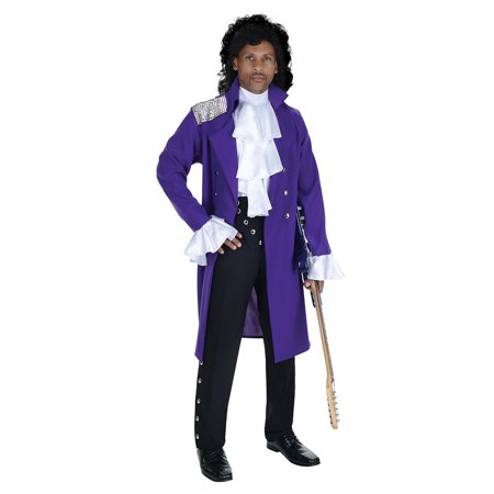 Purple Pop Star Adult Costume - - Pop Art Costume Ideas
