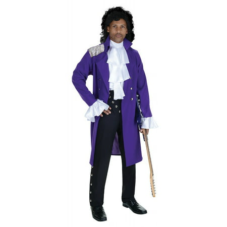 Pop Stars Costumes (Purple Pop Star Adult Costume -)