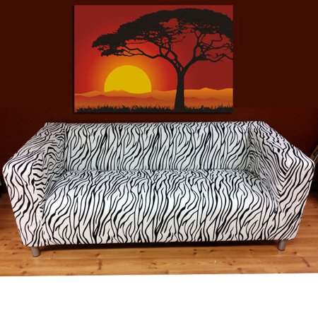removable sofa slipcover cover fits only for ikea klippan. Black Bedroom Furniture Sets. Home Design Ideas