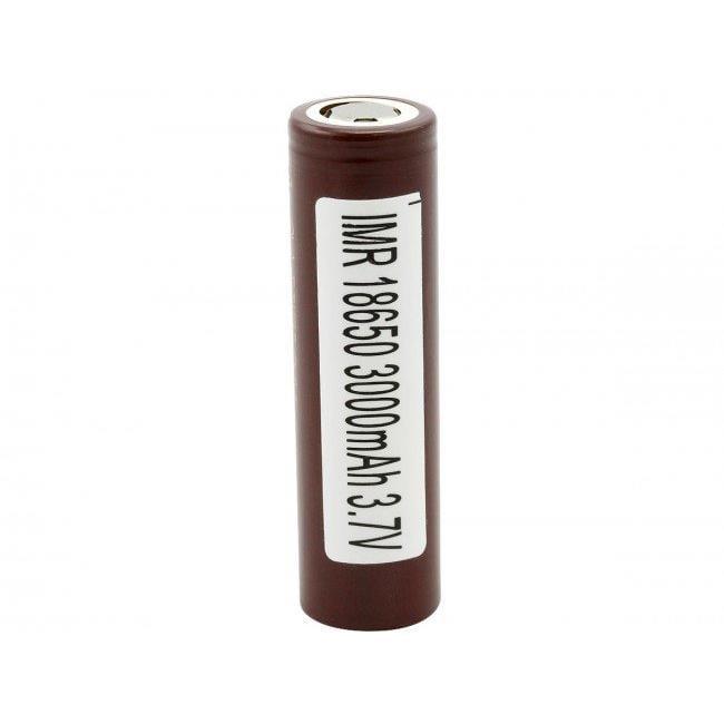 LG LG-HG2-18650-INR 3000mAh 3.7V Unprotected Lithium Manganese Nickel Flat Top Battery - image 1 of 1