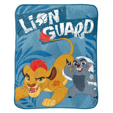 Lion Guard All For One Fleece Throw (Lions Toddler Fleece)