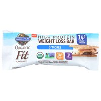 Garden Of Life High Protein Weight Loss Bar, S'Mores, 1.9 Oz, Pack Of 12