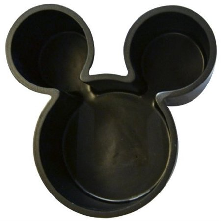 DISNEY Mickey Mouse Icon Head - Black Cotton Jar