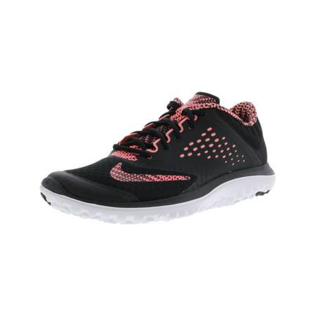 d524c41f377 Nike - Nike Women s Fs Lite Run 2 Prem Black   Lava Glow White Ankle ...