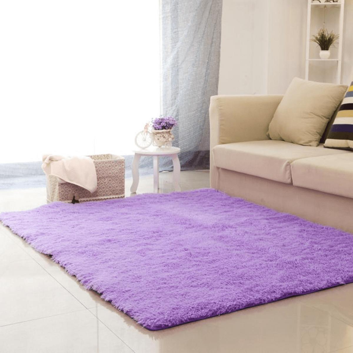 Moaere Super Soft Indoor Modern Shag Area Rug Silky Smooth