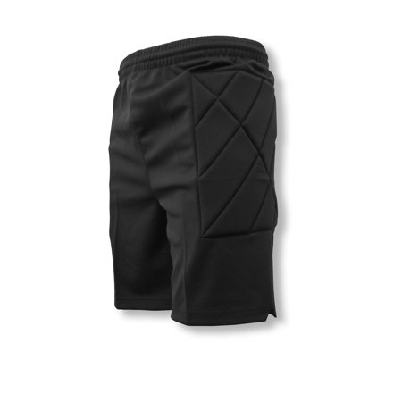 Nassau padded soccer goalie shorts by Code Four Athletics