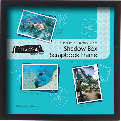 "12"" x 12"" Scrapbook Shadowbox Frame by MCS"