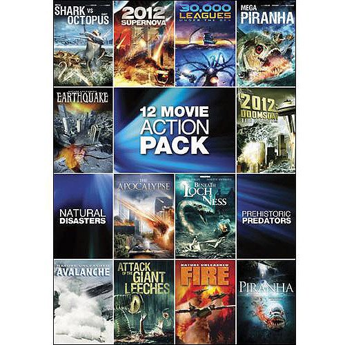 12 Movie Sci-Fi Action Pack