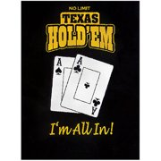 "Trademark Poker Texas Holdem Blanket, 60"" x 80"""