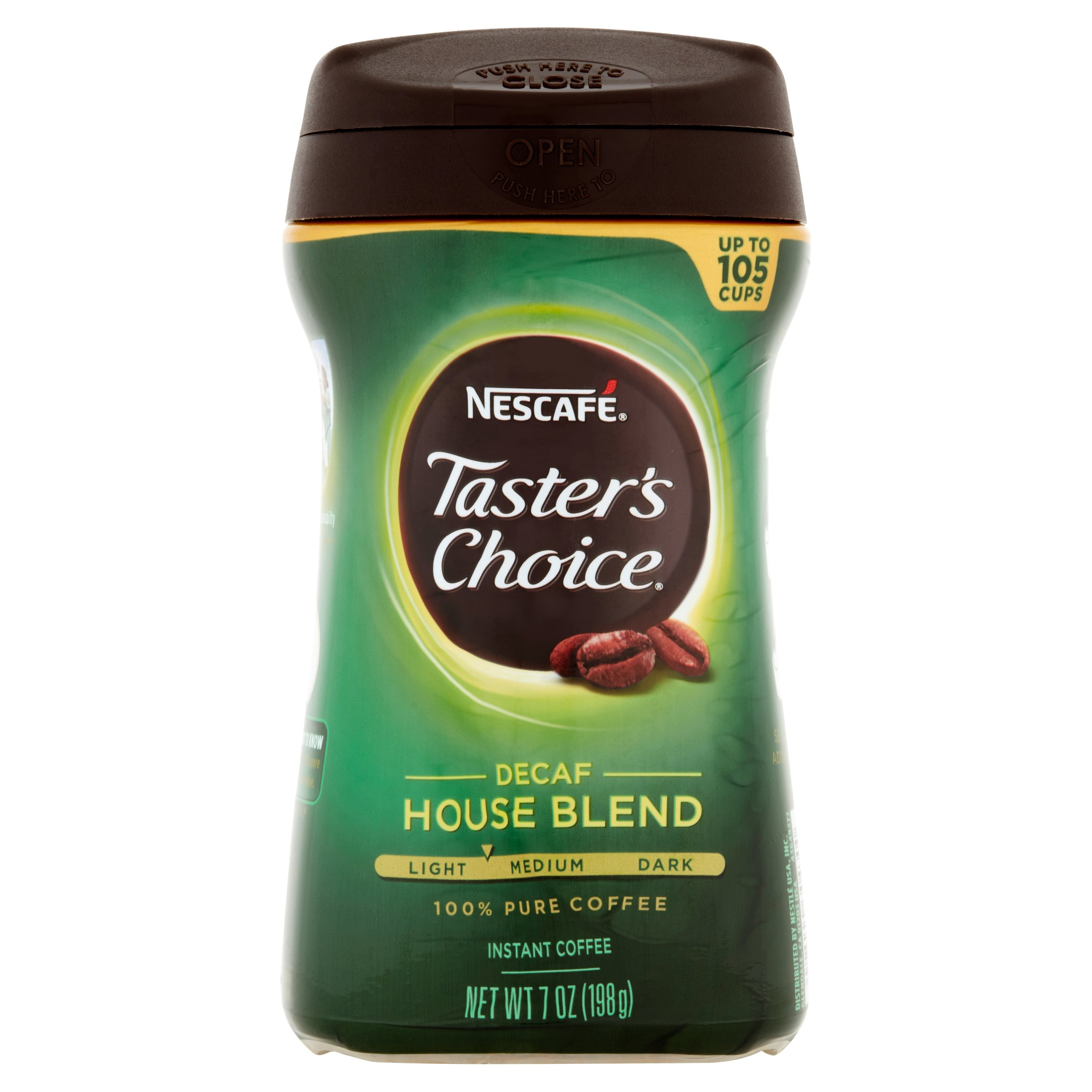 Nescafe Taster's Choice Decaf House Blend Instant Coffee 7oz