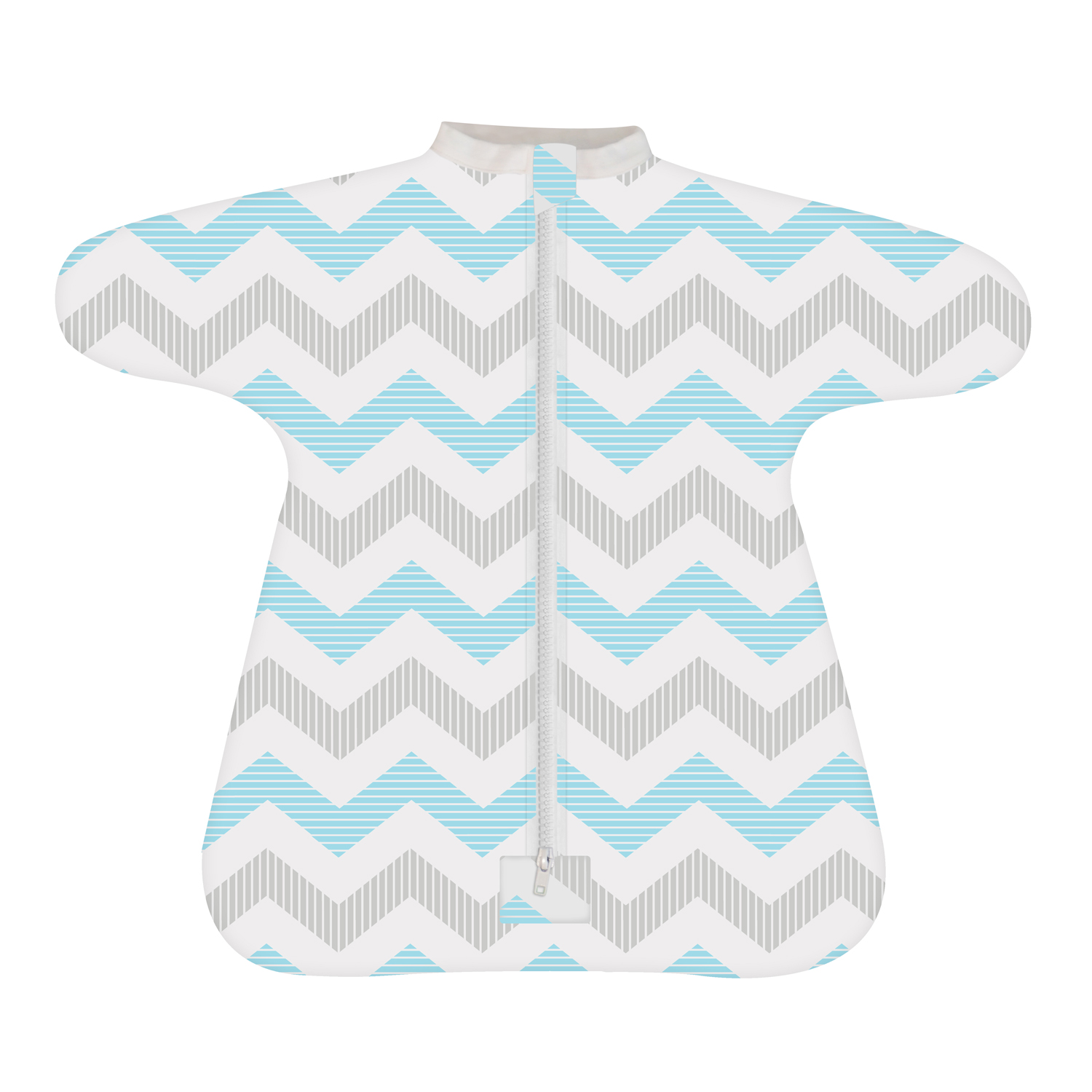 Cozy Baby Sleeper Swaddle  Wearable Blanket - Spunky Chevron - 3-6 Month