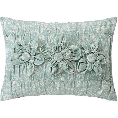 Better homes and gardens oblong decorative pillow peony - Better homes and gardens pillows ...