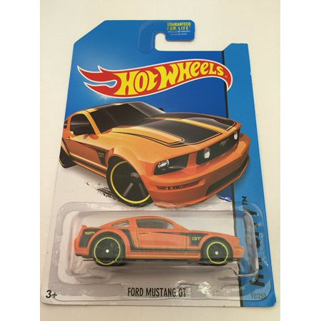 Hot Wheels - 2014 HW City 92/250 - Mustang 50 - Ford Mustang GT (orange), 1:64 scale By