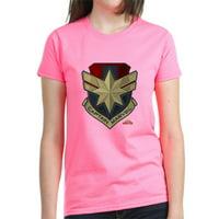 CafePress - Captain Marvel T Shirt - Women's Dark T-Shirt