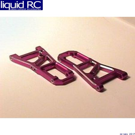 - GPM Racing SN405507 HPI Super Nitro RS4 Purple Aluminum Front Arm Set
