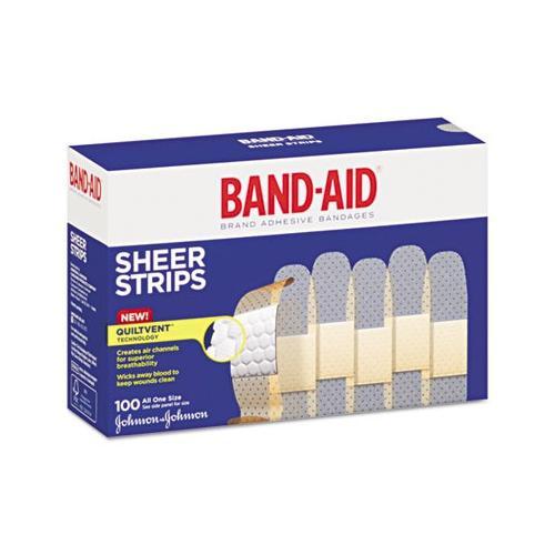 Band-aid Bandages, 3/4 X 3, Flexible Fabric, Adhesive JON4634