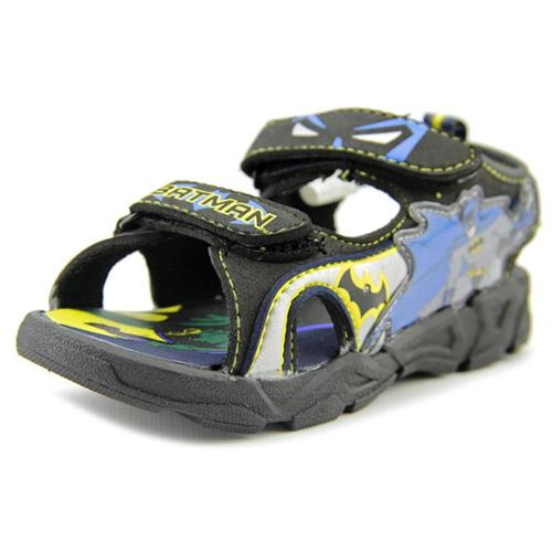 Batman Batman Lighted Sports Sandal Youth US 12 Black Sport Sandal