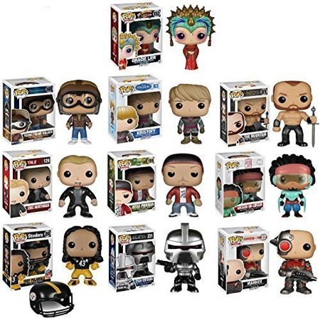 Funko POP! Exclusive Mystery Starter Pack Set of 10 Includes 10 Random Funko POPS Will Vary and No Duplicates by - Will Pop