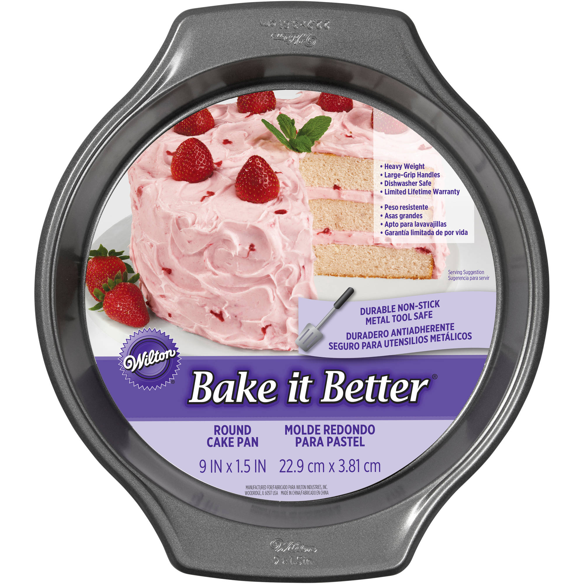 "Wilton Bake It Better 9"" Round Pan"