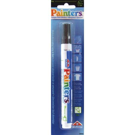 Elmer's Painters (R) Opaque Paint Markers Fine Point Black