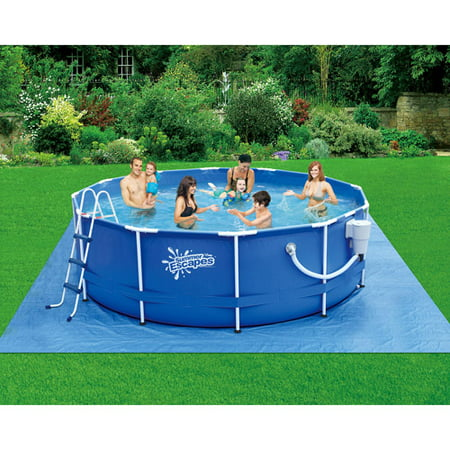 summer escapes 12 x 36 metal frame swimming pool