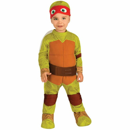 Teenage Mutant Ninja Turtles Raphael Toddler Halloween Costume, Size 3T-4T](Teenage Halloween Games)