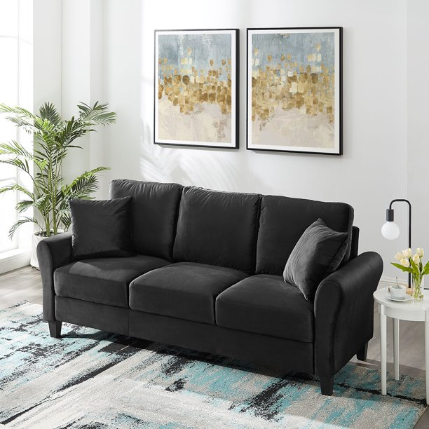 Tribesigns Sofa Couch for Living Room 3-seat Sofa Couch Sofas for Apartment