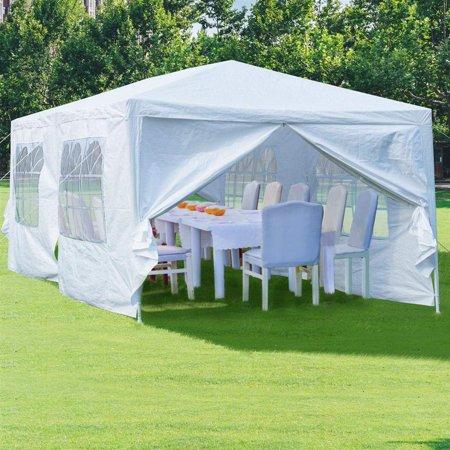 Ktaxon Upgrade 10' x 20' Party Tent Wedding Canopy Gazebo Tent Pavilion w/6 Side Walls 2 Doors